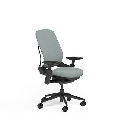 New Large Steelcase Leap PLUS Adjustable Desk Chair - Buzz2 Alpine Fabric 500 lb