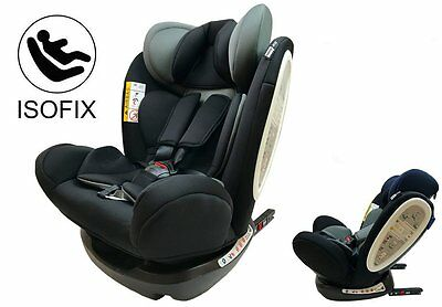 Silla de Coche Grupo 0 1 2 3 Isofix Star Ibaby Travel + Top Tether + Cojín