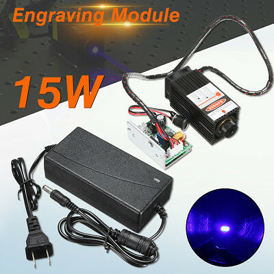 15W Laser Head Module for Wood  Marking Cutting Engraving Engraver  with TTL