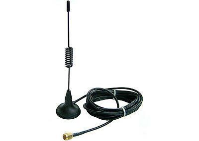 GSM Antenna with 5m Cable for GSM Gateway or GSM PCI/PCIe Interface cards