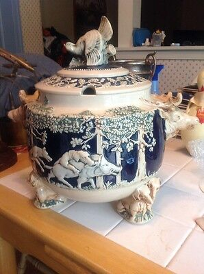 Amazing Tureen Animals All Over It