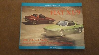 Rare Fiat X1/9: A Collector's Guide by Phil Ward (Paperback, 1994)