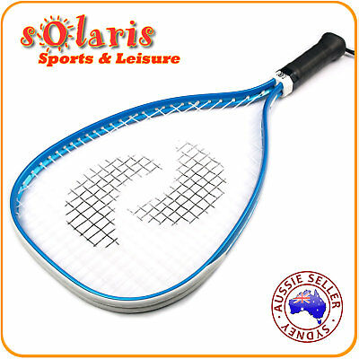 "TURBO 21"" Aluminum Alloy Racquetball Racquet Classic Entry Level Beginner Racket"