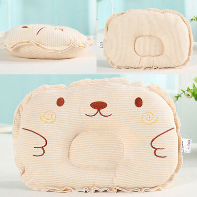 Soft Comfortable Baby Pillow Cushion Stripes For Infants Kids Baby Care Bedding