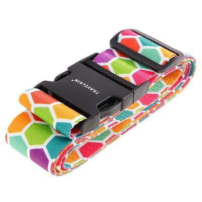 Suitcase Luggage Buckle Strap Travel Baggage Security Tie Down Belt Gift #1