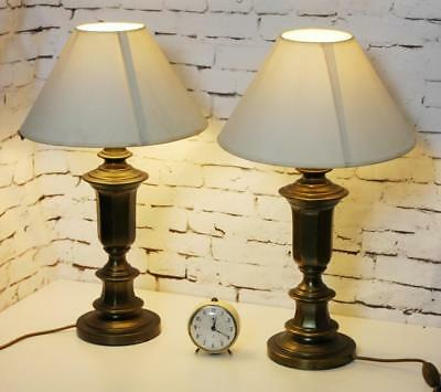 A Pair of Vintage Retro Table Lamps  - FREE Shipping [PL3765]