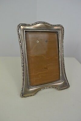 Antique Stamped So Co Edwardian 1907 Birmingham Silver Picture Photograph Frame