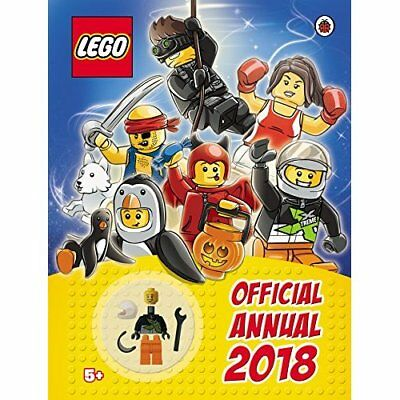 LEGO Annual 2018 Official NEW Hardback Year Book Children Kid Activity 024129514