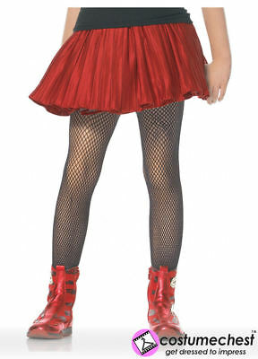 11-13 years Girls Black Fishnet Tights by Leg Avenue