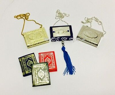 Car Hanging With Mini Quran Selected Surah Islamic Gift Muslim Prayer