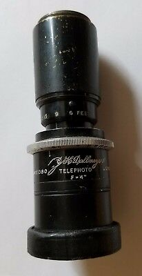 Vintage Dallmeyer Telephoto Lens