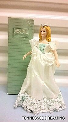 Avon Fairy Princess Porcelain Doll New In Box 9 Inch Doll