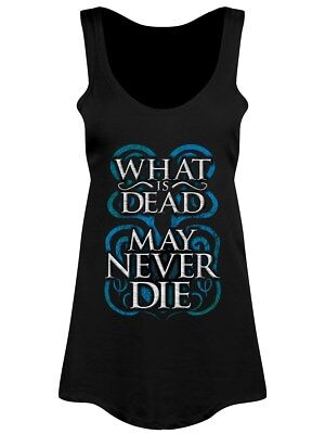 What Is Dead May Never Die Women's Black Floaty Vest