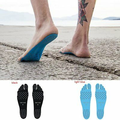 1Pair Waterproof Non Slip Slipper Adhesive Foot Pad Protector Stick on Sole Feet