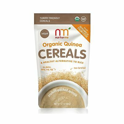 NurturMe Protein Packed Quinoa Organic Infant Cereal 3.7 Ounce