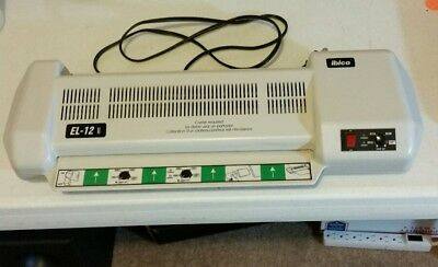 Ibico EL 12 Model 2 Laminator In Mint Condition Rarely Used Fast Ship