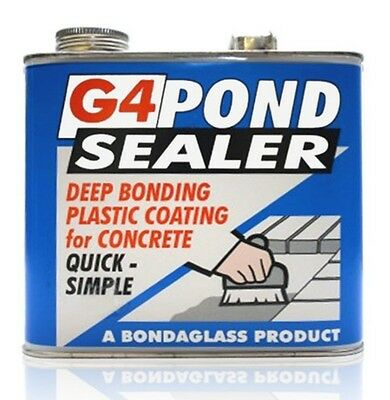 G4 polyurethane POND SEAL SEALER PAINT 2.5KG (CLEAR) (Free delivery)