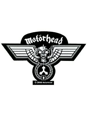 Motorhead Hammered Out Patch - NEW & OFFICIAL