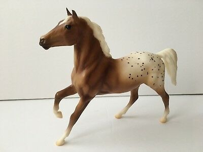 Breyer Classic Camping on the Trail Appaloosa Palomino Horse Black Beauty