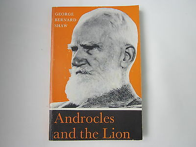 ANDROCLES AND THE LION George Bernard Shaw 1968 PB VGC