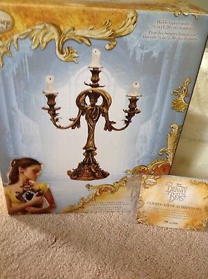 Disney Beauty & the Beast Live Action Limited Edition Lumiere