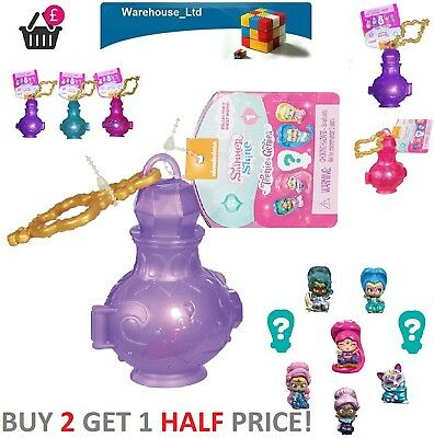 Shimmer and Shine Teenie Genies Surprise Bottle Single Lucky Dip Lamp Assorted