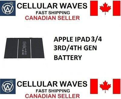 New OEM Replacement Battery For iPad 3/4 3rd 4th Generation A1389 A1430 #11036