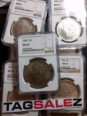 ✯Estate Coin Lot US Morgan Silver Dollar ✯1 PCGS or NGC UNC ✯ O S P CC Mint✯