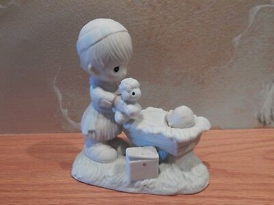 Precious Moments Christmas Is A Time To Share e2802 Mint Condition