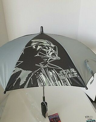Star Wars Darth Vader Kids Umbrella NEW