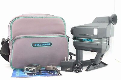 Vintage FISHER-PRICE PXL-2000 CAMCORDER SYSTEM Original Bag And Accessories
