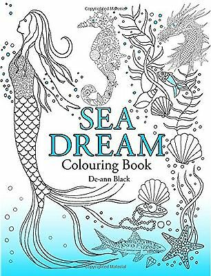 Coloring Book For Adults Beautiful Sea Dream Stress Relieving Patterns Designs