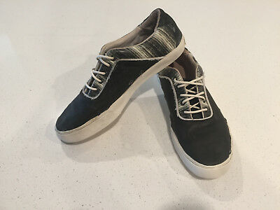 PUMA ALEXANDER MCQUEEN Shoes Rabble Lo Black Sneakers 11 Mens 354433 ... 2a1f7920e