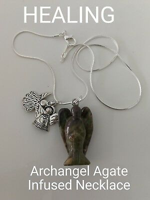 Code 686 Agate Archangel Infused Necklace Doreen Virtue Certified Practitioner