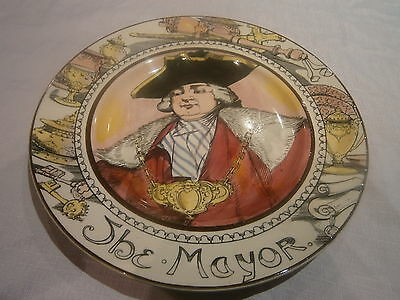 royal doulton plate d6283 the mayor