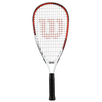 Wilson Tour Pro JR Junior Kids Children's Squash Racquet 3 3/4 Racket Pre-Strung