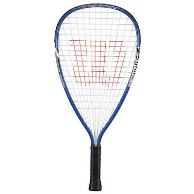 Wilson Slammer Power-strings 3 6/8 Racket Racquetball Adult Racquet Pre-strung