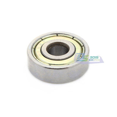 10Pcs 608ZZ Bearings Deep Groove Carbon Steel Ball Bearing 8x22x7mm  ABEC-5