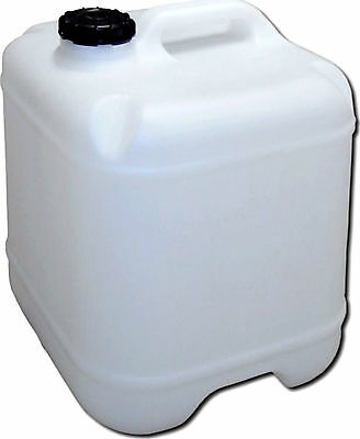 10 Lt Water Storage Cube Container Plastic Jerry Can Drum Tank Camping Caravan