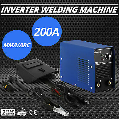 MMA-200 IGBT DC Inverter Welding Equipment MMA Machine Portable Stick Welder