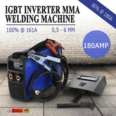 New ! 180 Amp MMA ARC DC Pulse Portable Inverter Welder Stick Welding Machine
