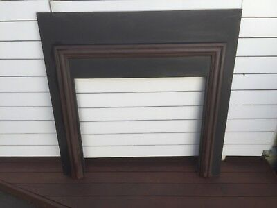 Fire Place Mantle (Vintage) And Grate