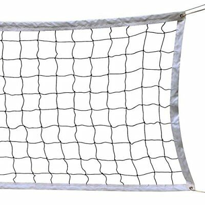 NKTM Outdoor Sports Classic Volleyball Net for Garden Schoolyard Backyard