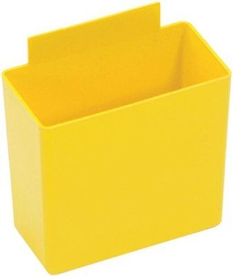 "Quantum Storage Systems QBC111YL Bin Cup for Store-More 6"" Shelf Bins"