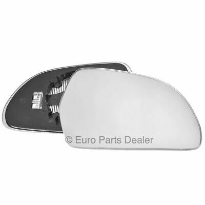 For Skoda Superb 08-15 Right Driver side Aspheric wing mirror glass with plate