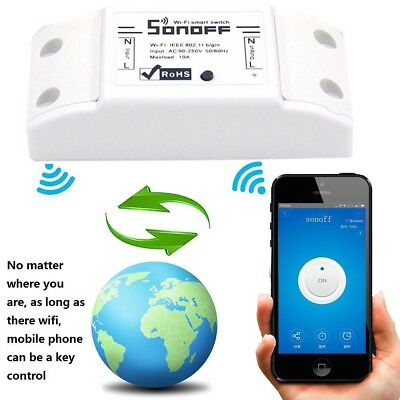 Universal Wireless Smart Switch Module Remote Control ABS Socket for Home Timer