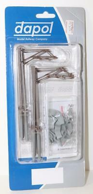 OO Scale Dapol CATENARY MAST 10 PACK  Cat1 FNQHobbys