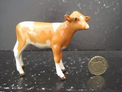 Rare Vintage Beswick England Guernsey  Calf 1249A Cattle 1952 -1975