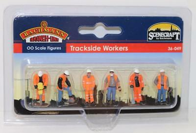 "Bachmann Branchline OO 36-049 Figures Trackside Workers ""NEW"" FNQHobbys"