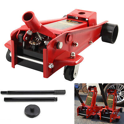 3 Ton Quick Lift Heavy Duty Hydraulic Trolley Floor Jack Car Caravan Van 4x4